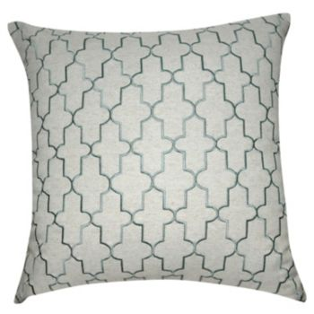 Loom and Mill Damask I Throw Pillow