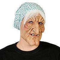 Adult Evil Granny Costume Mask