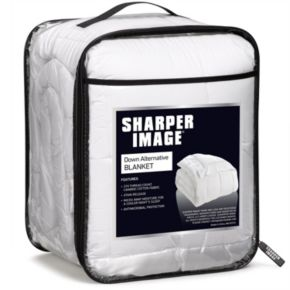 Sharper Image 370 Thread Count Down Alternative Blanket
