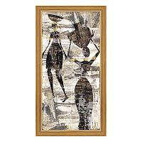 Metaverse Art Africa I Framed Canvas Wall Art