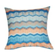 Loom and Mill Chevron Faux Suede Throw Pillow