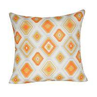 Loom and Mill Diamond I Geometric Throw Pillow