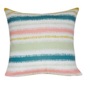 Loom and Mill Stripe I Throw Pillow