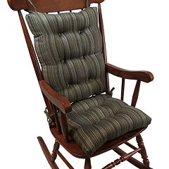 The Gripper Stripe Jumbo Rocking Chair Pad 2-pk.