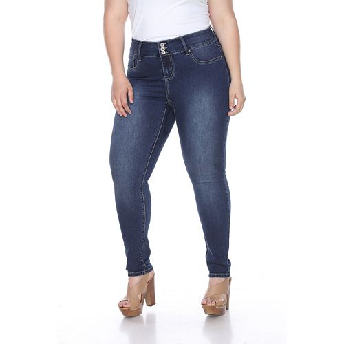 Plus Size White Mark Super Stretch Denim Jeans