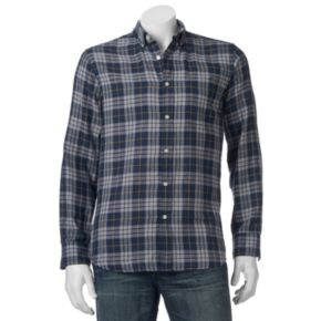 Men's SONOMA Goods for Life? Double-Weave Button-Down Shirt