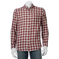 Men's SONOMA Goods for Life™ Double-Weave Button-Down Shirt