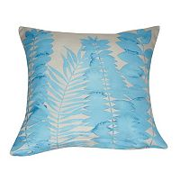 Loom and Mill Leaf I Throw Pillow