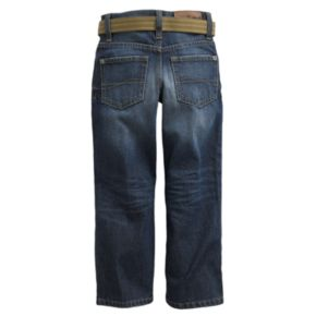 Boys 4-7x Lee Dark Blue Relaxed Bootcut Jeans