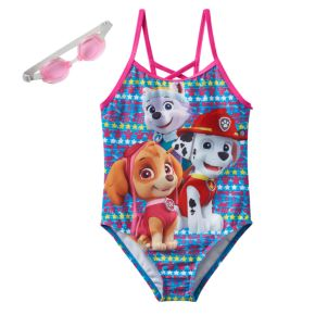 Girls 4-6x Paw Patrol Everest, Skye & Marshall One-Piece Swimsuit