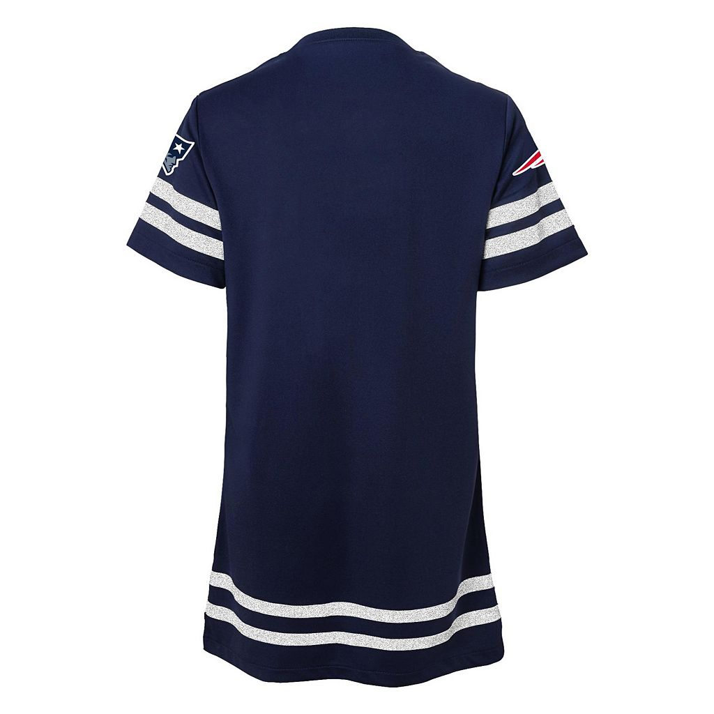 Girls 7-16 New EnglandPatriots Football Dress