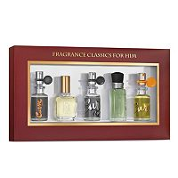 5 pc Men's Cologne Travel Gift Set