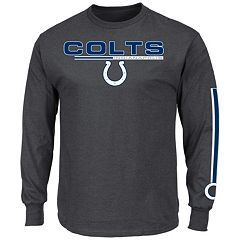 Men's Majestic Indianapolis Colts Primary Receiver Long-Sleeve Tee