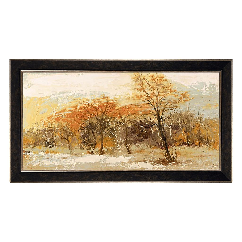 Metaverse Art Foresta I Framed Canvas Wall Art