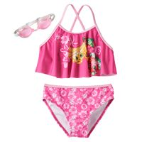 Girls 4-6x Shopkins Buncho Bananas & Strawberry Kiss 2-pc. Bikini Swimsuit Set
