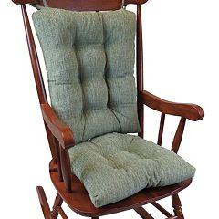The Gripper Polar Chenille Jumbo Rocking Chair Pad 2-pk.