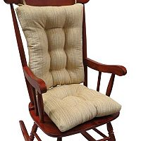The Gripper Polar Chenille Jumbo Rocking Chair Pad 2-pk.