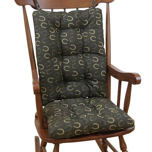 The Gripper Horseshoe Jumbo Rocking Chair Pad 2-pk.