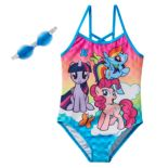 Girls 4-6x My Little Pony Twilight Sparkle, Rainbow Dash & Pinkie Pie One-Piece Swimsuit