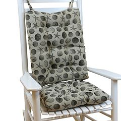 The Gripper Seashell Jumbo Rocking Chair Pad 2-pk.