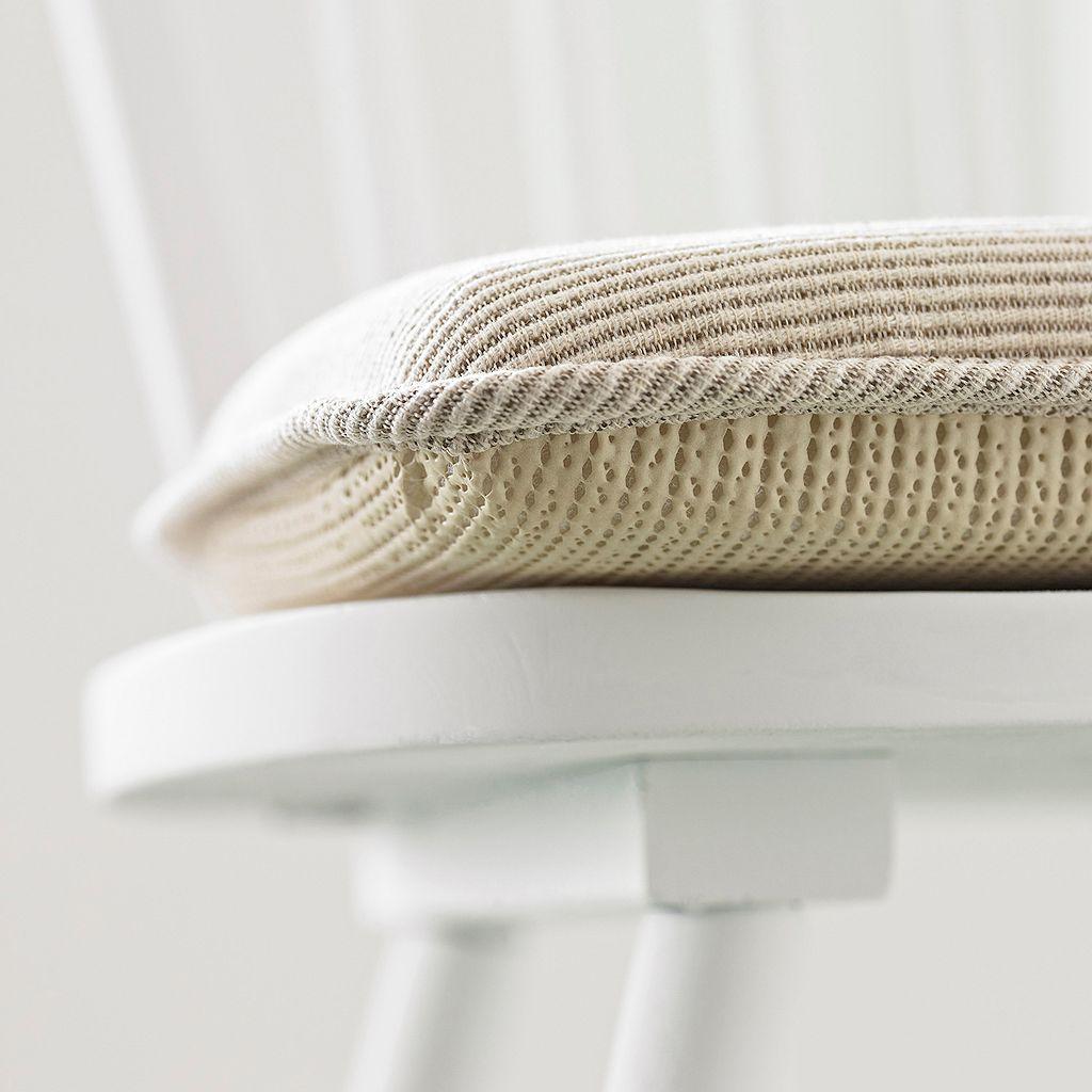 The Gripper Seashell Jumbo Rocking Chair Pad 2-pk.