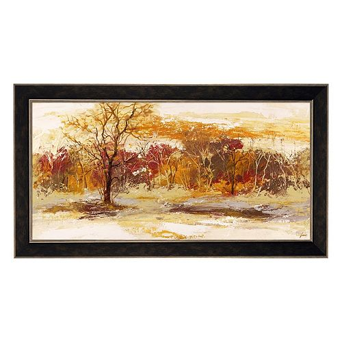 Metaverse Art Foresta II Framed Canvas Wall Art