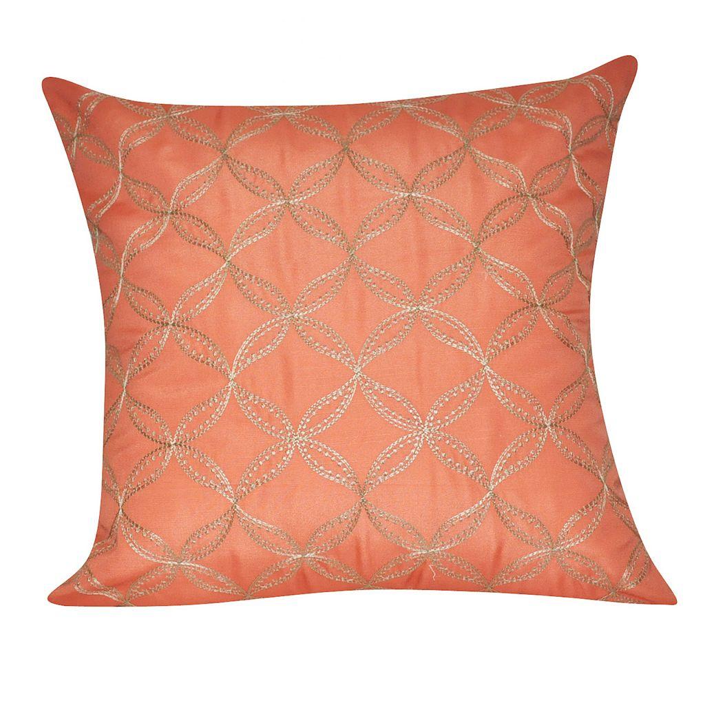Loom and Mill Interlocking Circles Throw Pillow