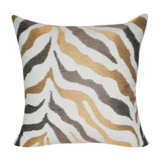 Loom and Mill Zebra Throw Pillow