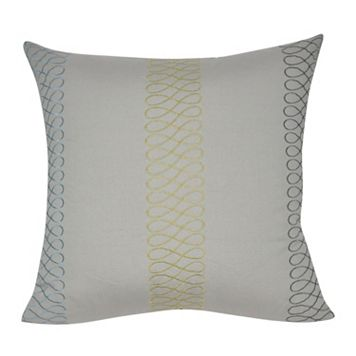 Loom and Mill Stripe Tan Throw Pillow