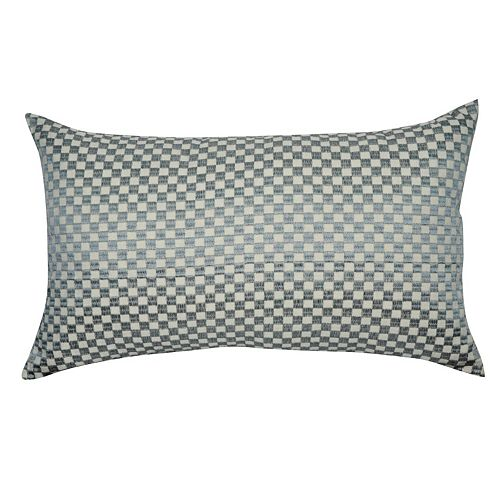 Loom and Mill Geometric Block Oblong Throw Pillow