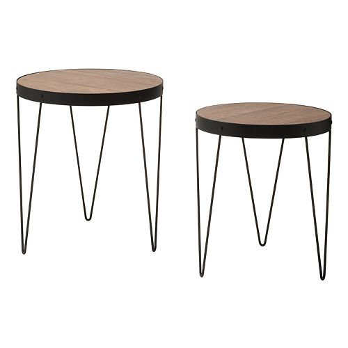 OSP Designs Pasadena Nesting End Table 2-piece Set