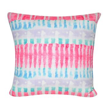 Loom and Mill Tie-Dye I Throw Pillow