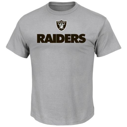 Men's Majestic Oakland Raiders For All Time Tee