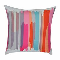 Loom and Mill Stripe Multi Throw Pillow