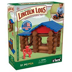 Lincoln Logs 51 pc Forge Mill Cabin Set