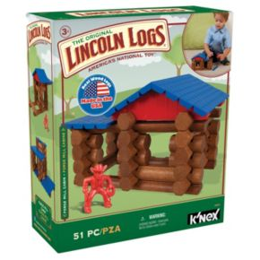 Lincoln Logs 51-pc. Forge Mill Cabin Set