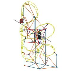 K'NEX 305 pc Clock Work Roller Coaster Building Set