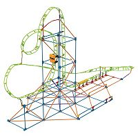 K'NEX 347 pc Infinite Journey Roller Coaster Building Set