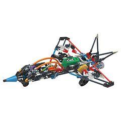 K'NEX 402 pc Turbo Jet 2-in-1 Building Set