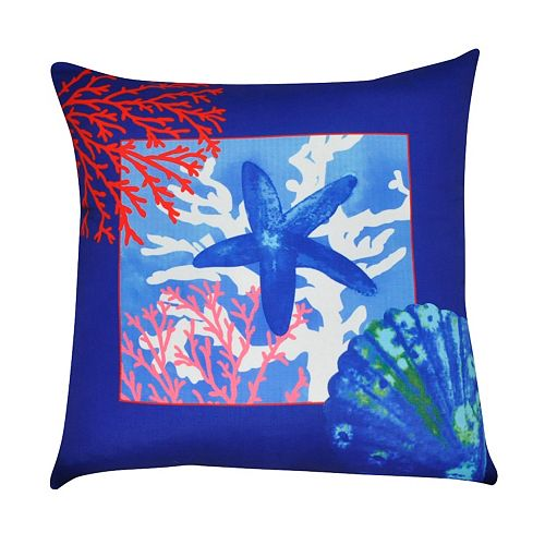 Loom and Mill Sea Life IV Throw Pillow