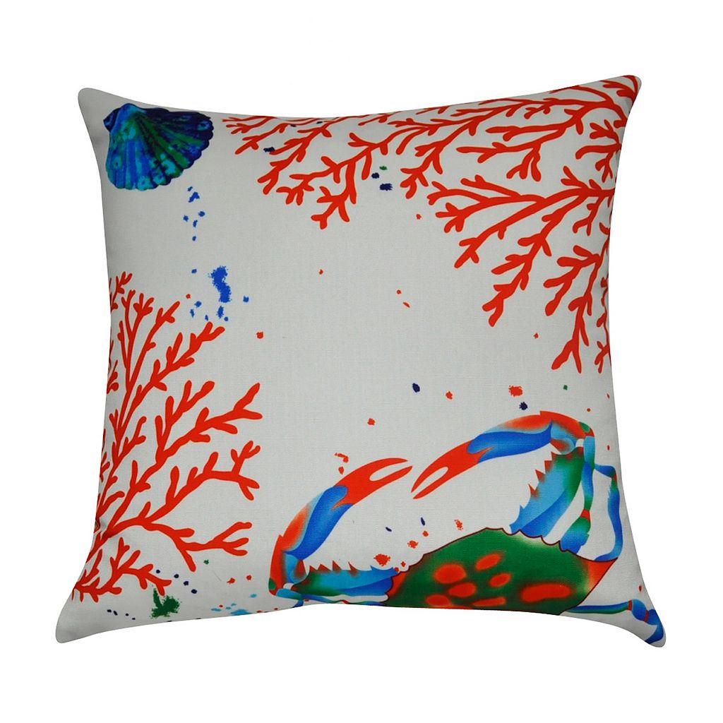 Loom and Mill Sea Life III Throw Pillow