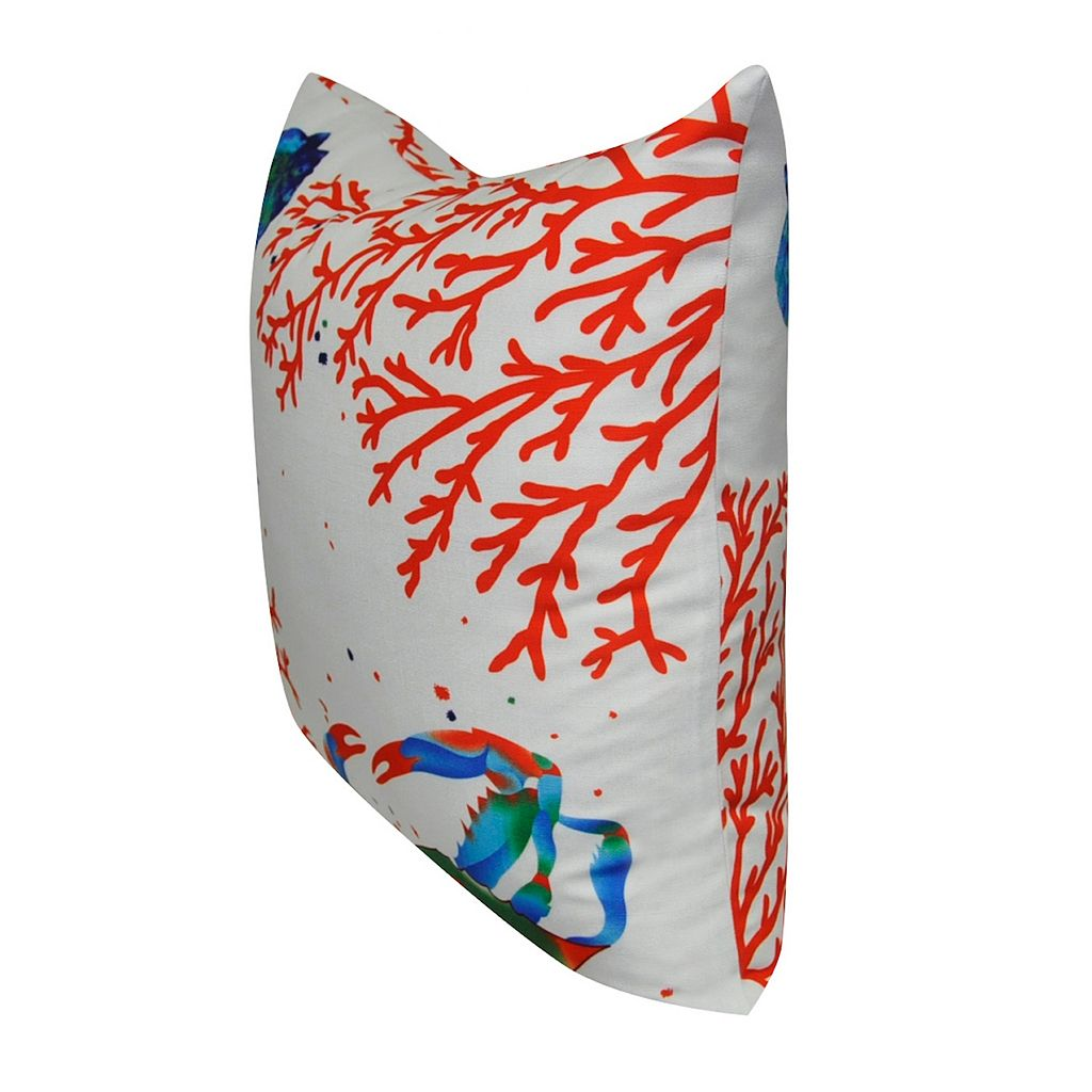 Loom and Mill Sea Life III Throw Pillow