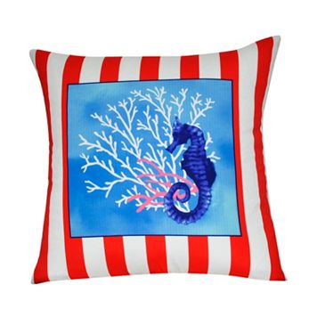 Loom and Mill Sea Life II Throw Pillow