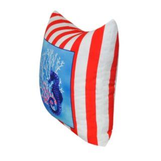 Loom and Mill Sea Life II Throw Pillow