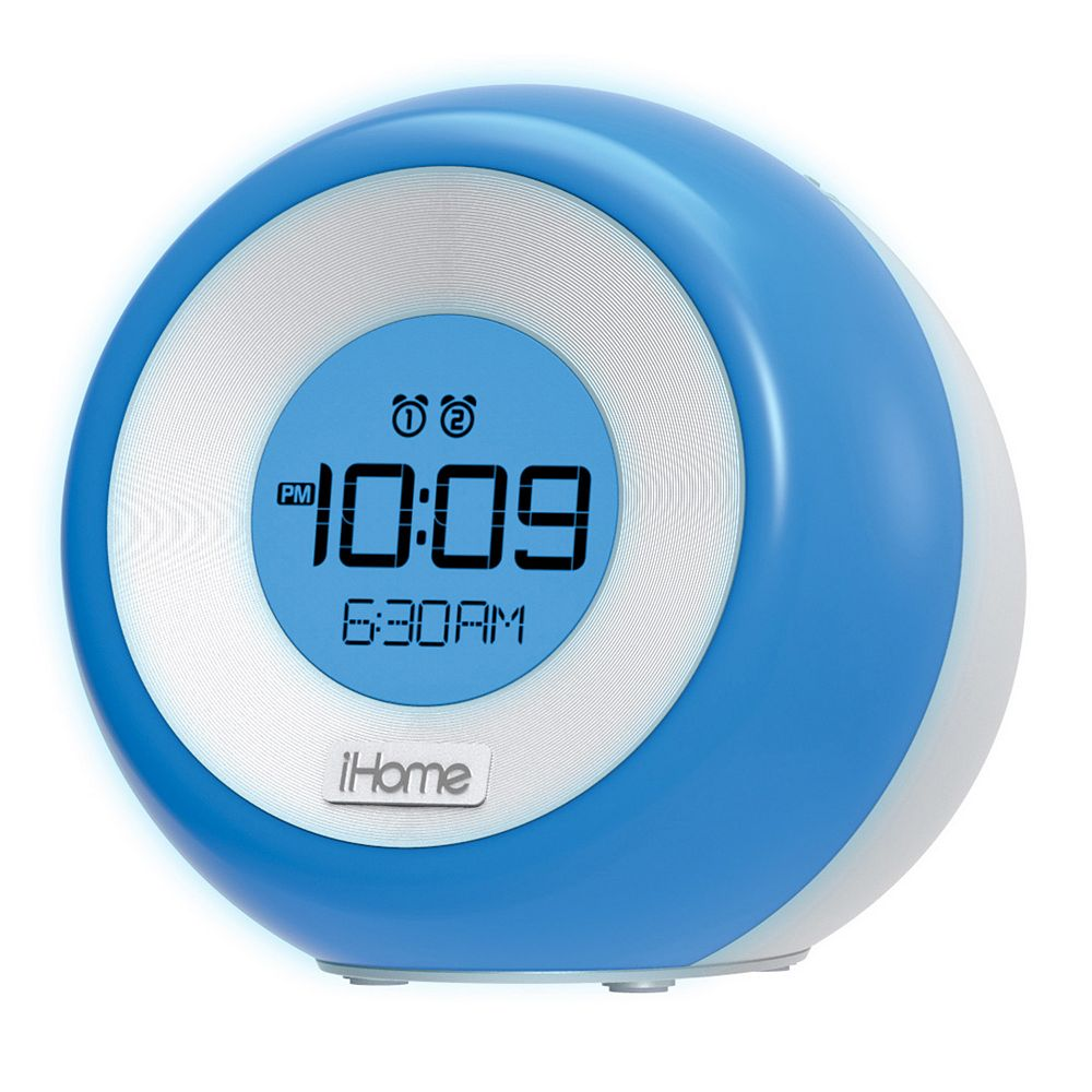 iHome iM29 Color-Changing Dual Alarm FM Clock Radio with