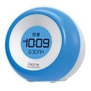 iHome iM29 Color-Changing Dual Alarm FM Clock Radio with USB Charging