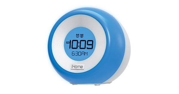 ihome im29 color changing dual alarm fm clock radio with usb charging. Black Bedroom Furniture Sets. Home Design Ideas