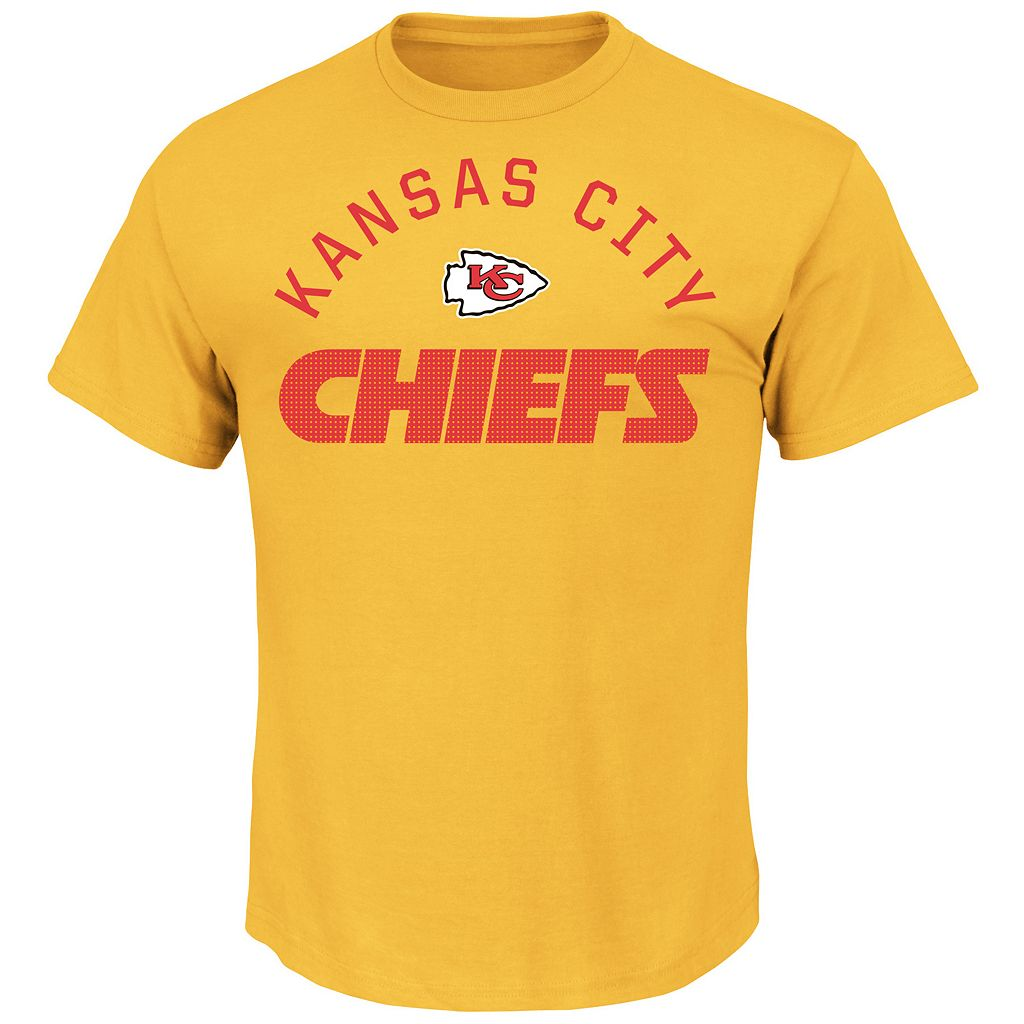 Men's Majestic Kansas City Chiefs For All Time Tee