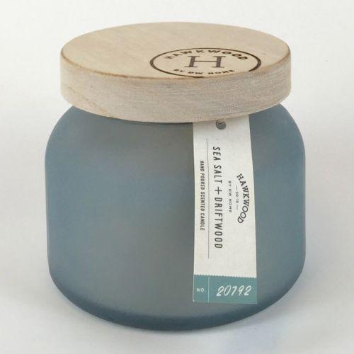 Hawkwood Sea Salt & Driftwood 6-oz. Candle Jar