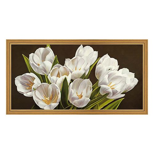 Metaverse Art Bouquet Di Yulipani Framed Canvas Wall Art